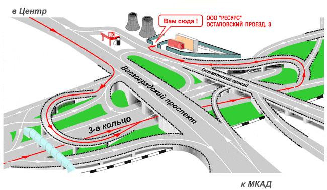 самое короткое шоссе в москве нее начинают